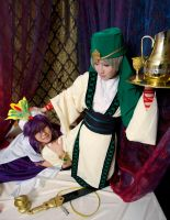Magi: Women + Wine = Sinbad by ringo-031