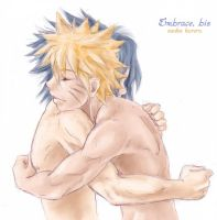 NarutoSasuke - another embrace by askerian