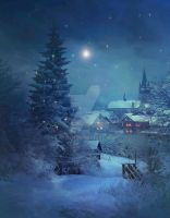 PREMIUM background - Christmas Time2 by Euselia