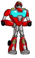 Heatwave from Rescue Bots by CharonTheSabercat