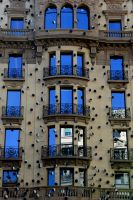 Postcard from Barcelona 05 by JACAC