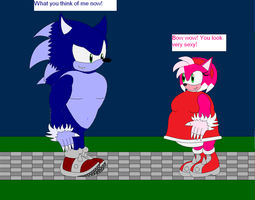 Were Amy, and Were Sonic 2 by CrazySonic00