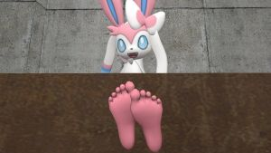 Sylveon's soles 7 (request) by hectorlongshot