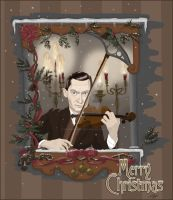 Sherlock Holmes - Violinist on Christmas Day by MrsHorowietzky