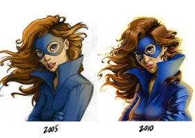 Shadowcat - Revisited by RayOcampo