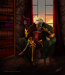 .:OC Project:. Light Reading by Anilede