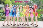 Love Live! Chinese Dress version by multipack223