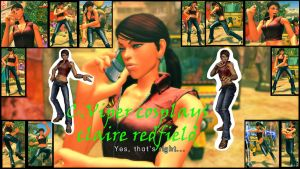 C Viper Cosplays claire redfield by salimano3