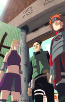 Sarutobi Team by IKashos