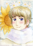 [APH] Russia with flowers by Margo-sama