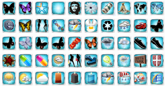 50 Icons PNG and ICO format by vitago