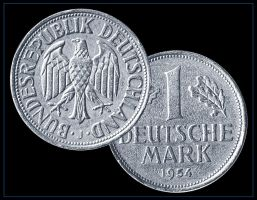 1954 deustche mark by catalin-ad