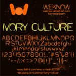 Ivory Culture font by weknow by weknow
