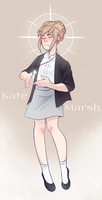 Kate Marsh [+Added Speedpaint] by Boddbby