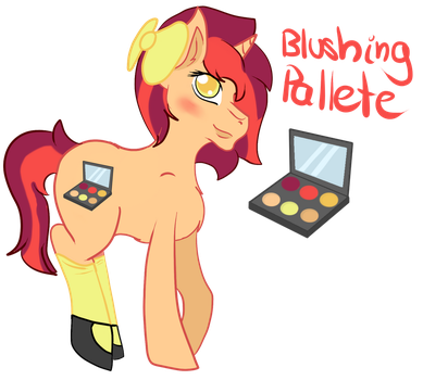 Blushing Pallete REF by littleXmaniacs