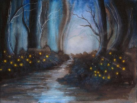 The tale of fireflies by Cisowa