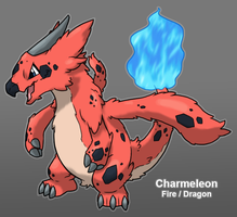 PkMn Purple: Charmeleon Redesign