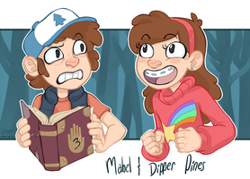 Mystery Twins by Deericious