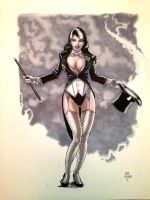 Zatanna - Finished by thejohncarmine