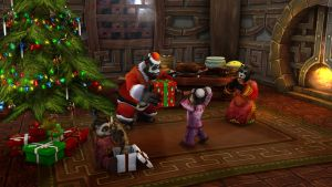 Pandaren Christmas by hipnosworld