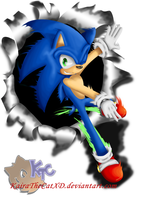 -:Sonic-Rompiendo-Limites:- by KairaA-TheCat