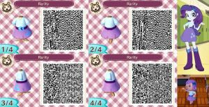 Animal Crossing: New Leaf QR Code - Rarity by MysteryMoonbeam