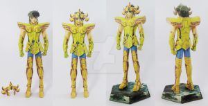 Leo Aiolia Papercraft by AdrianoRamone
