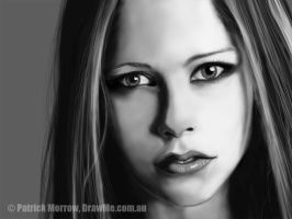 Avril Lavigne by DrawMeDotComDotAu