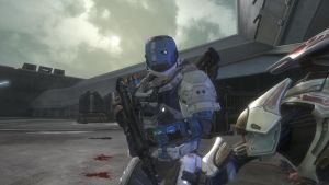 Halo character, spartan by ODST934
