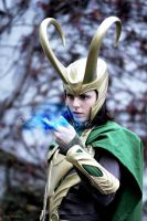 Loki Cosplay - Magic by Mon-Kishu