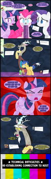 Rainbow Tales Replies: Destination Discord by Narflarg
