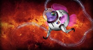 fish...IN SPACE by DoxySocks