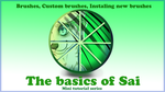 The basics of Sai part 2 Brushes by pampd