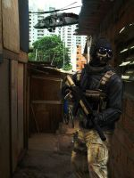 Ghost in Favela by GuiI23