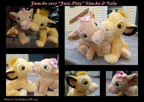 Jumbo 2011 Just Play Simba And Nala by DoloAndElectrik