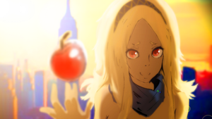 Kat | Gravity Rush by spenzbowart