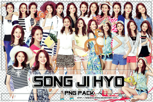 [PNG-PACK#044] Song Ji Hyo by babykidjenny