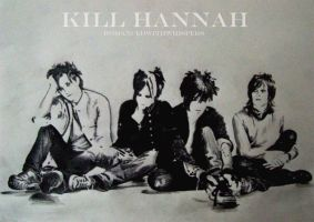 Kill Hannah- Drawing. by RomancedWithWhispers