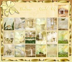 Backgrounds  Yellow Gold  01 by flaviacabral