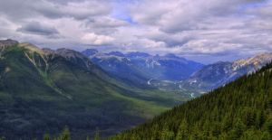 Banff mountains by Qels