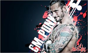 CM Punk by Andrea6661