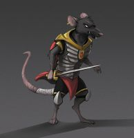 Redwall Rat Design by Temiree