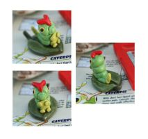 Caterpie Figurine by Skyelark