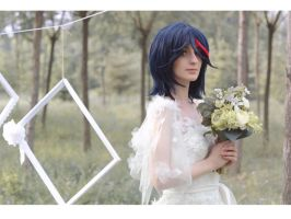 Kill la Kill: Ryuko's Imaginary Wedding by Green-Makakas