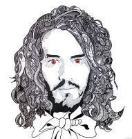 Russell Brand Hair Head by TimWhitehouse