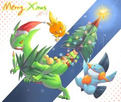 Pokemon : Merry Christmas! by R-nowong