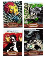 IRON MAN 2 sketchcards- 2 by JasonLatour