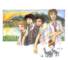 The Marauders by DunnyRaddit