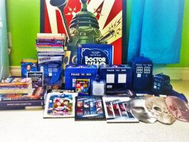My Doctor Who Collection... So Far by tardis12345