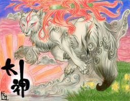 +Rise of the Sun_Amaterasu+ by ShadowFlames1o1